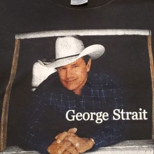 Vintage George Strait country music festival shirt